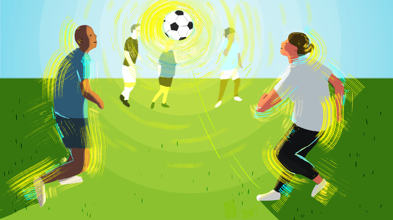 To Boost Mental Health Try Team Sports Or Group Exercise Shots