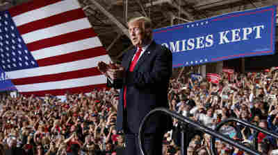 Trump Sticks To Trump Country As He Pushes For GOP Wins In The Midterms