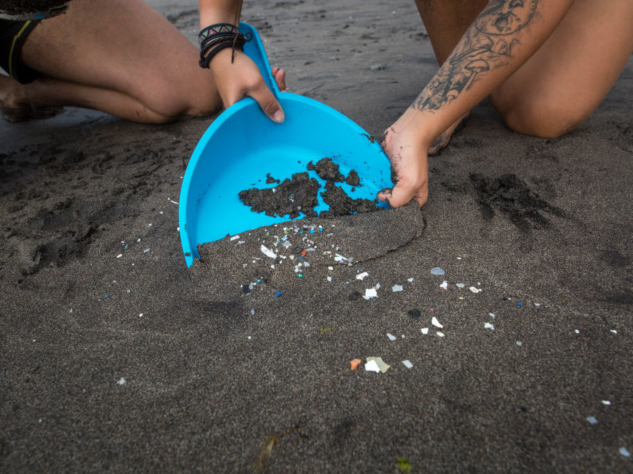 Microplastics Are Turning Up Everywhere, Even In Human Excrement