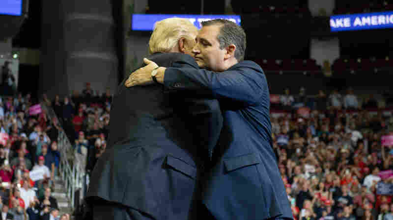 From 'Lyin' Ted' To 'Beautiful': How Trump And Cruz Found Political Love