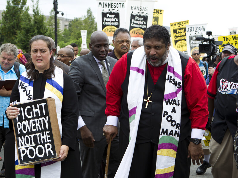 Faith & Leadership Preaching Gospel Of Love And Justice, William Barber Mobilizes Progressive Christians NPR