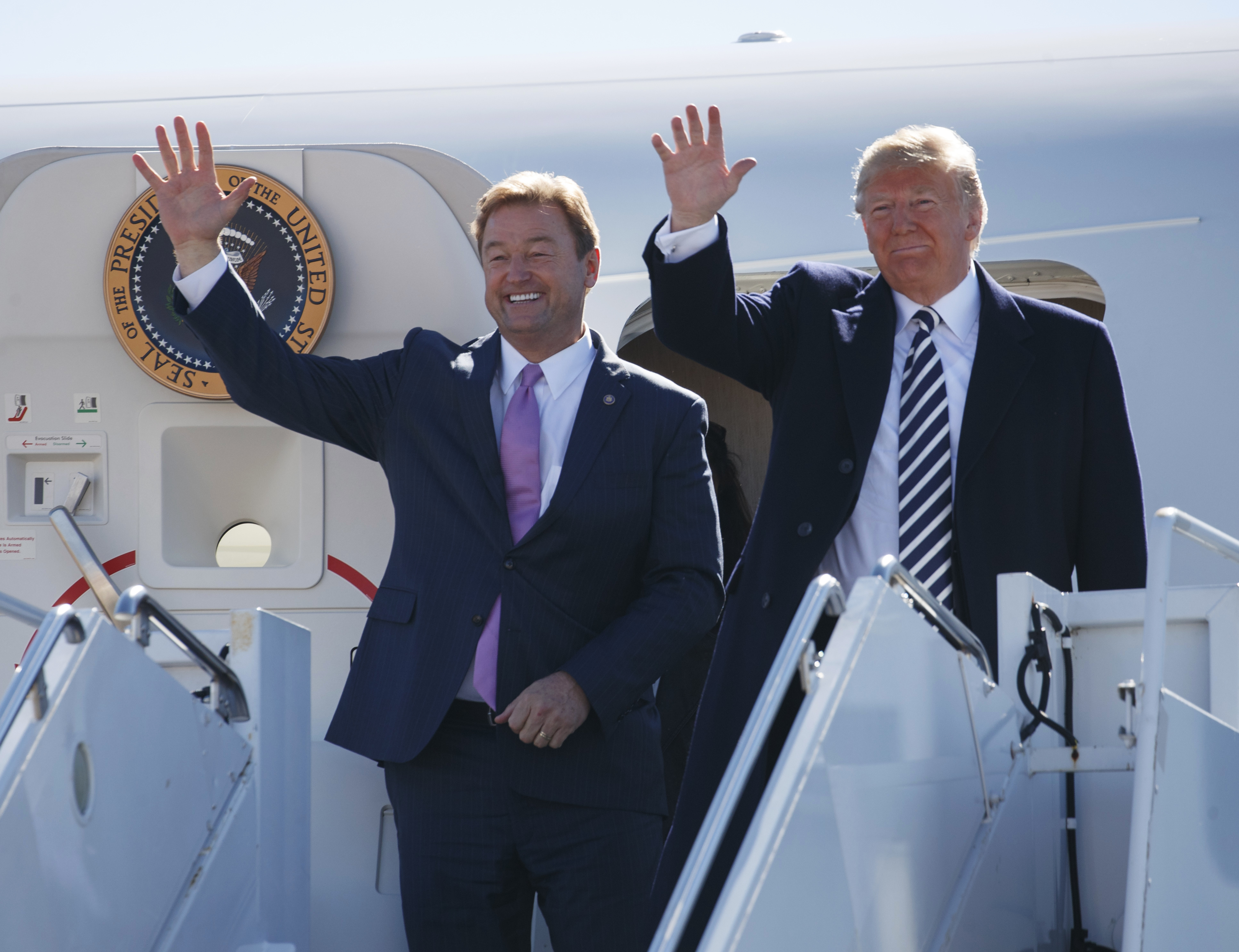 Nevada GOP Sen. Heller — Once A Trump Critic — Now Embraces President In Tight Race