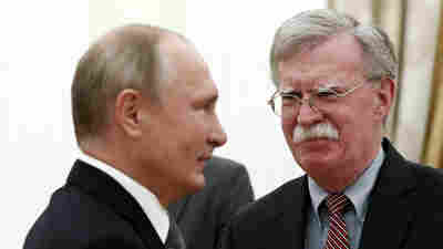 Bolton Affirms U.S. Intent To Pull Out Of Arms Treaty With Russia