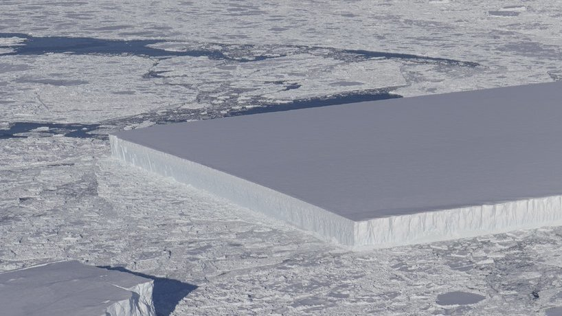 What's Going On With That Bizarre Rectangular Iceberg?