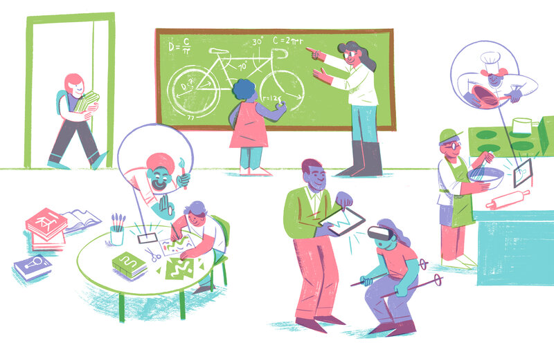the future of learning well it s personal npr