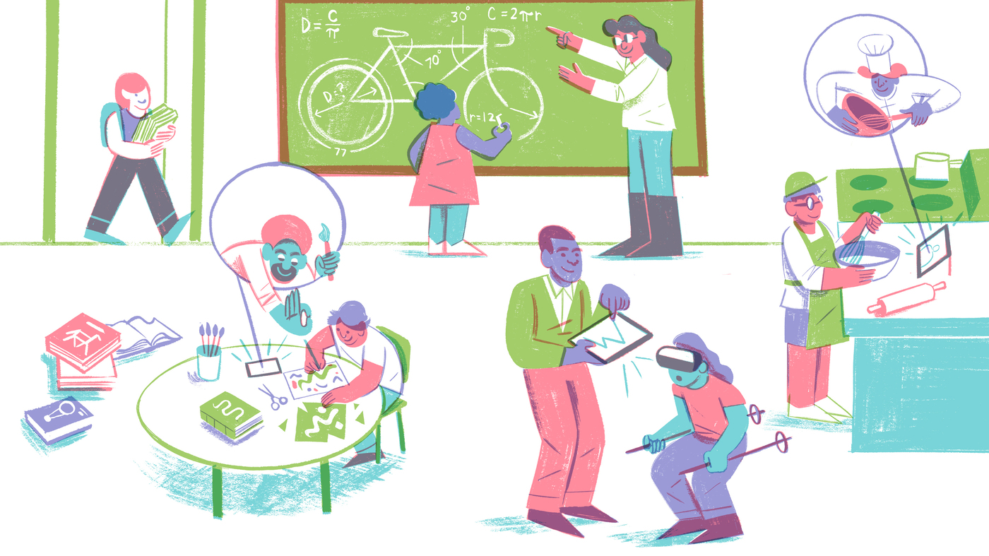 The Future Of Learning? Well, It's Personal : NPR