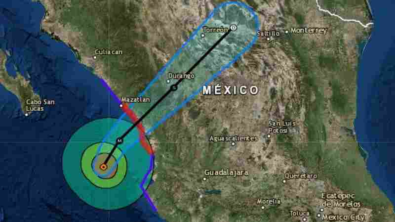 Hurricane Willa, A 'Life-Threatening' Category 3, Makes Landfall In Western Mexico