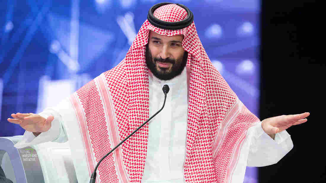 Saudi Crown Prince Calls Journalist's Killing 'Repulsive,' Vows Justice