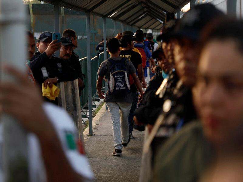 Defense Secretary Mattis Will Send Some 800 U S Troops To Border With Mexico Npr