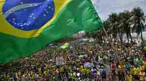 With Memories Of Dictatorship, Some Brazilians Fear A Hard-Right Turn