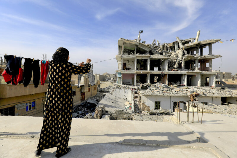 This Is Not Liberation Life In The Rubble Of Raqqa Syria Npr