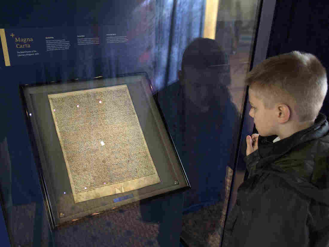 Magna Carta thief foiled after attempt on copy at Salisbury Cathedral