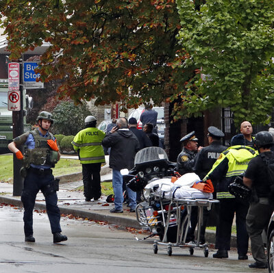 Suspect Charged With 29 Federal Counts In Pittsburgh Synagogue Massacre