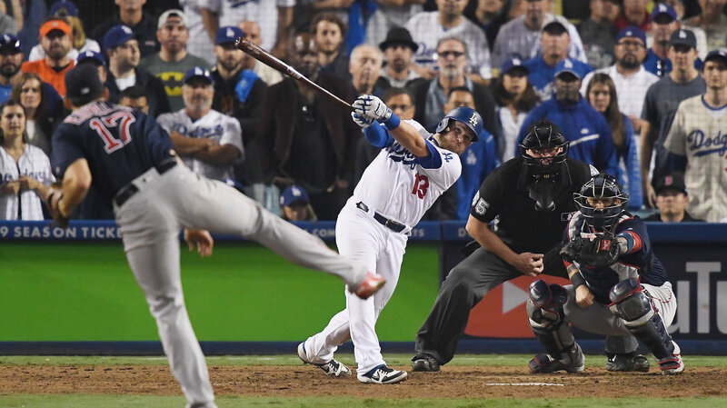 e2a093f84 World Series Game 3  Dodgers Defeat Red Sox In 18-Inning Game   NPR