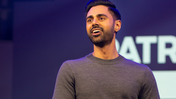 Hasan Minhaj talks about an awful lot in the new Netflix series Patriot Act.