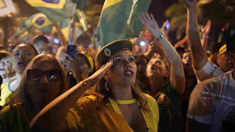 Brazil's Far-Right Candidate Jair Bolsonaro Wins Presidential Election