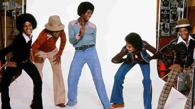 The Jacksons in Los Angeles, Calif. This was the first editorial photo session for the group after they signed with Epic Records in 1976.