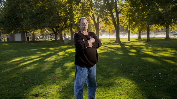 Grant Burningham, who lives in Bountiful, Utah, worked to get a referendum on Medicaid expansion on the Utah ballot in November.