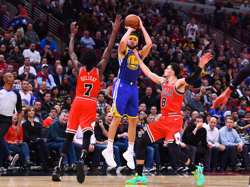 Klay Thompson Breaks NBA s 3-Point Record Held By Teammate Stephen Curry 40df6355f23c