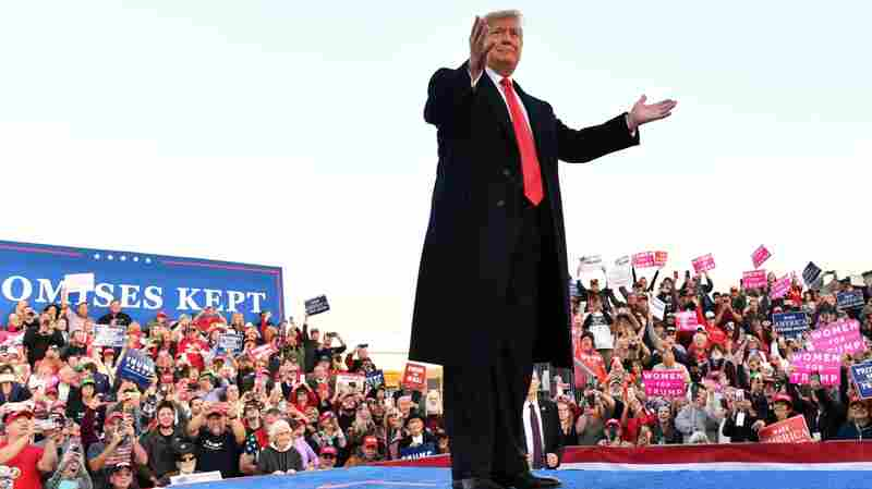 Trump Continues Rhetoric On Immigration Ahead Of Election