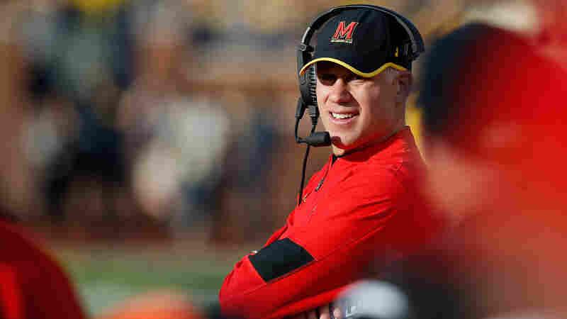 U. Of Maryland Says It Will 'Part Ways' With Football Coach DJ Durkin