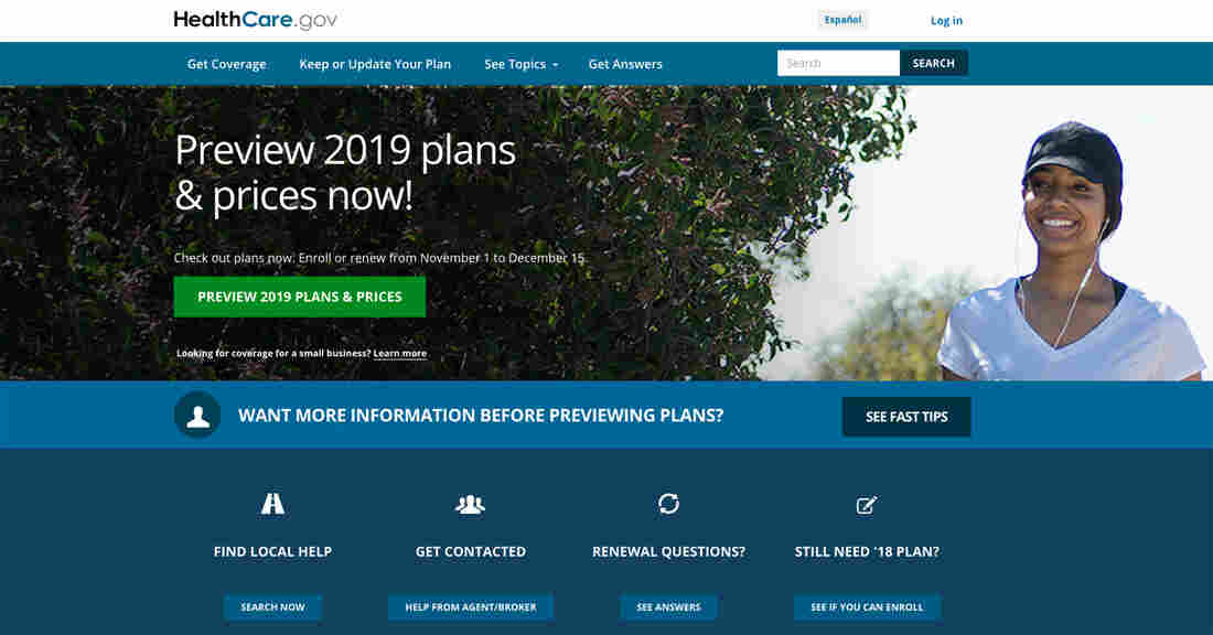 Affordable Care Act Marketplace open enrollment begins