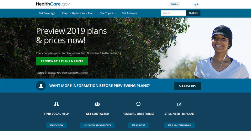 New Health Care Plans For 2019 ACA Insurance Sign Ups for 2019 Are Starting. Here's What To
