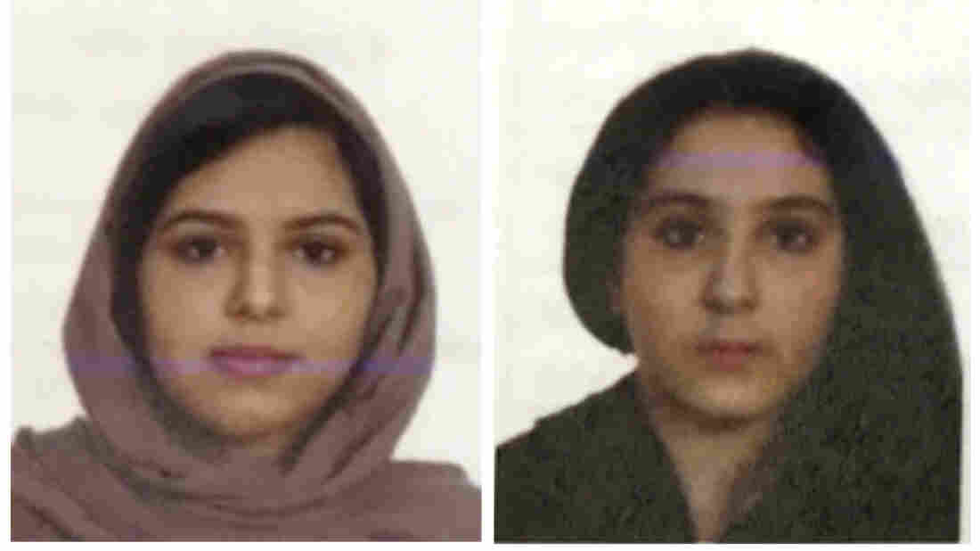 Police say Saudi sisters entered water alive