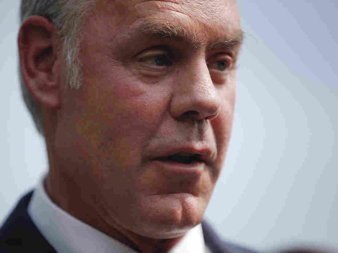 Trump says Interior Secretary Zinke leaving administration