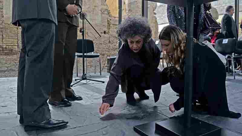 In Colombia, Artist Renders Tons Of Rebel Guns Into Floor Tiles