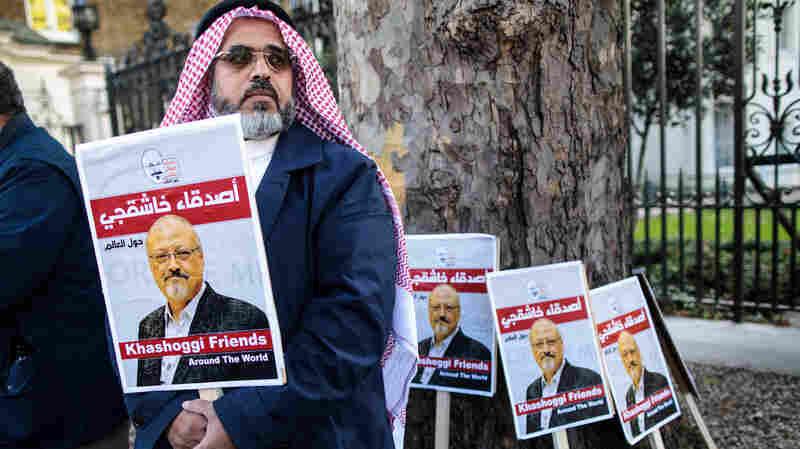 Jamal Khashoggi's Fiancee Calls For Saudis To Return His Body At Memorial In D.C.