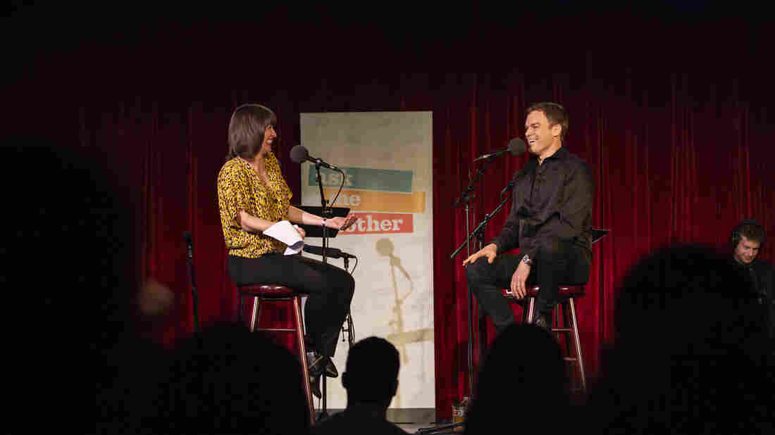 Ophira Eisenberg chats with Michael C. Hall on Ask Me Another at the Bell House in Brooklyn, New York.