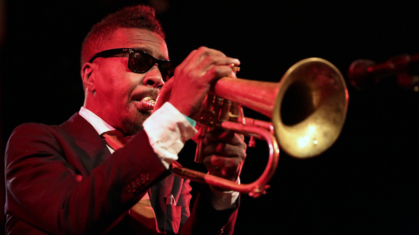 Roy Hargrove, pictured here performing in Paris in 2016, died Friday night at the age of 49.