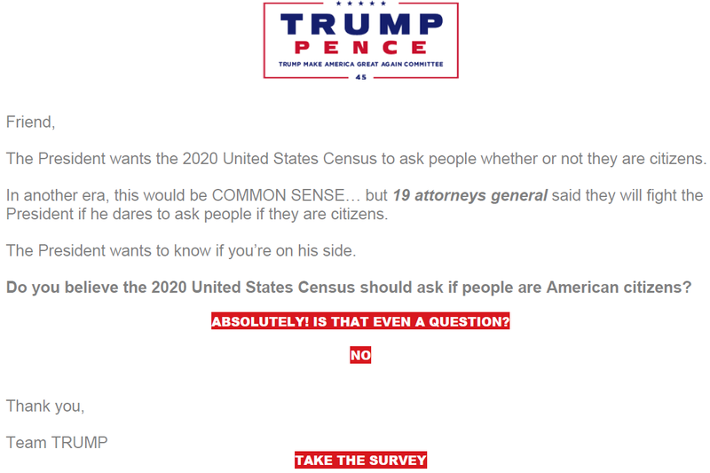 Timeline: How The 2020 Census Citizenship Question Ended Up