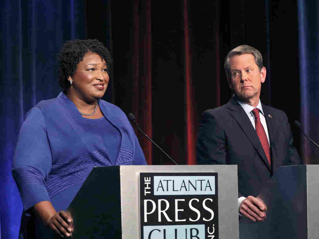 Gov. Candidate Abrams Responds to Kemp Hacking Probe