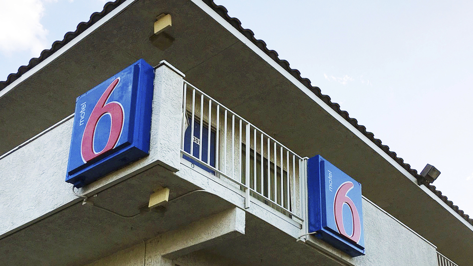 Motel 6 has acknowledged that guest lists were given to authorities but denied that senior management was aware of the practice. (Anita Snow/AP)