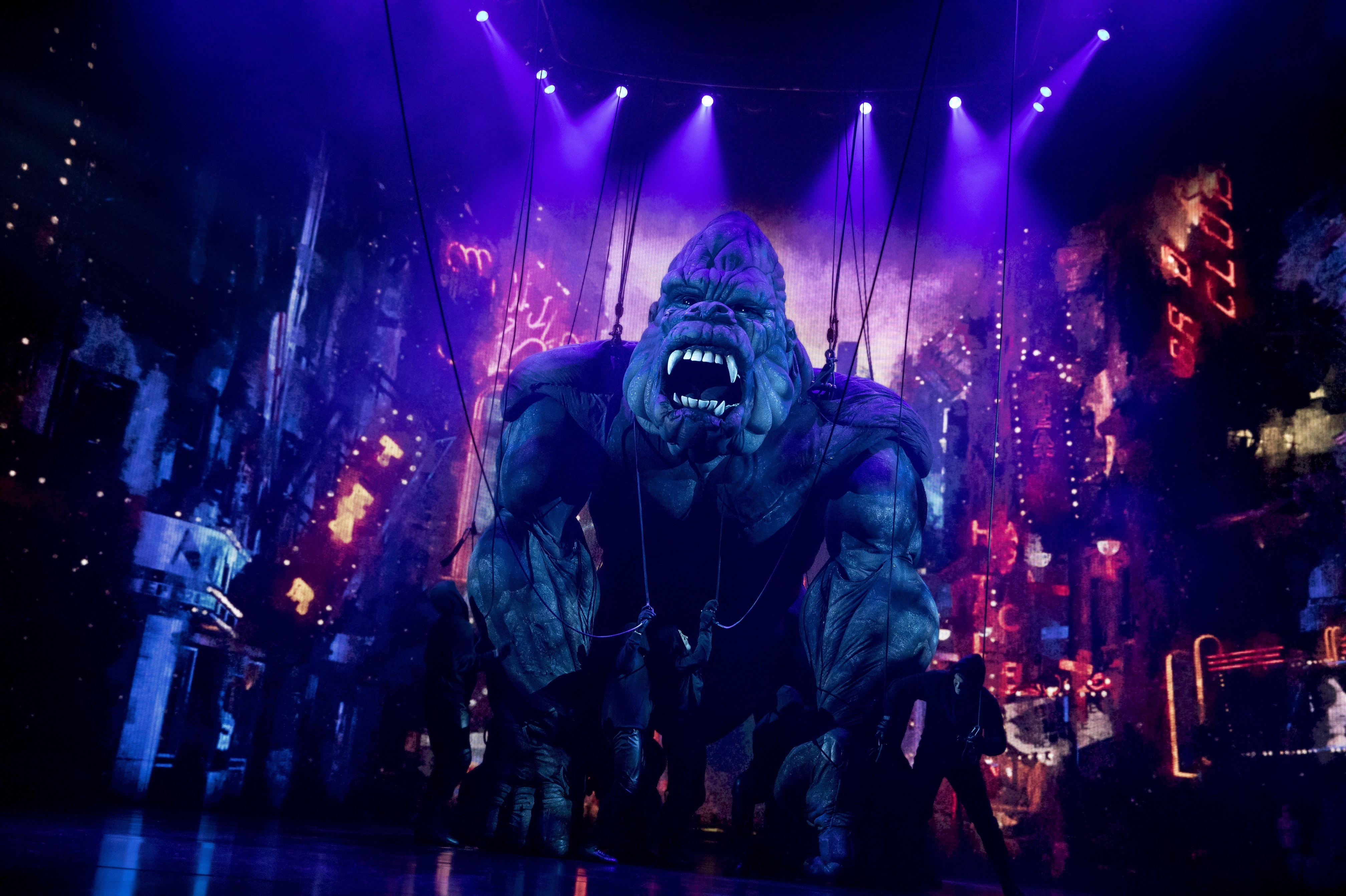 'King Kong' On Broadway Is The 2,400-Pound Gorilla In The Room