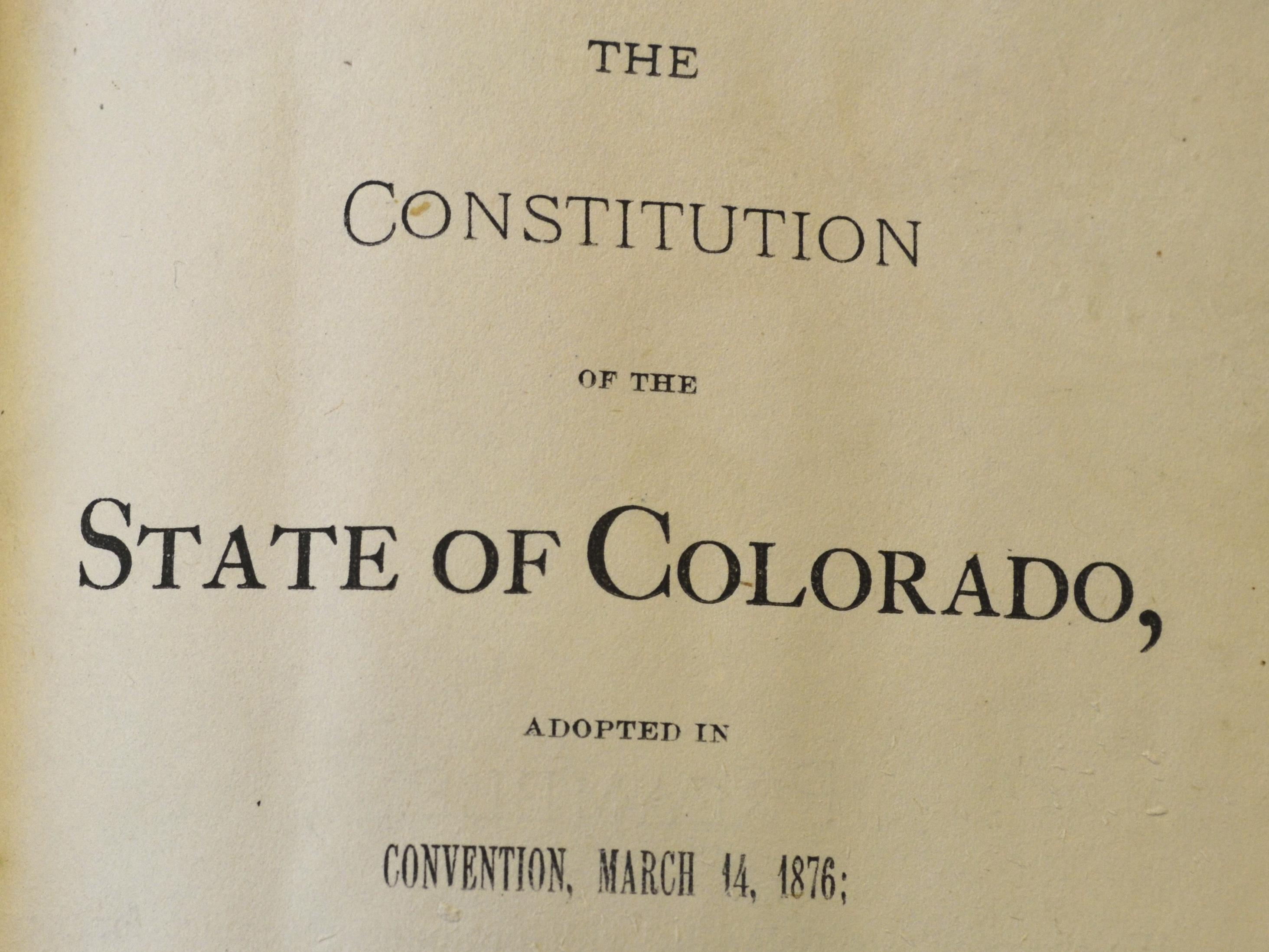 Colorado Votes To Abolish Slavery, 2 Years After Similar Amendment Failed