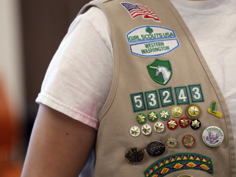 Girl Scouts Of The USA Files Suit Against Boy Scouts Of America : NPR