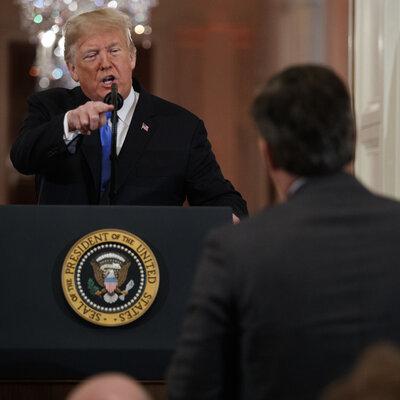 White House Revokes Press Pass Of CNN's Jim Acosta