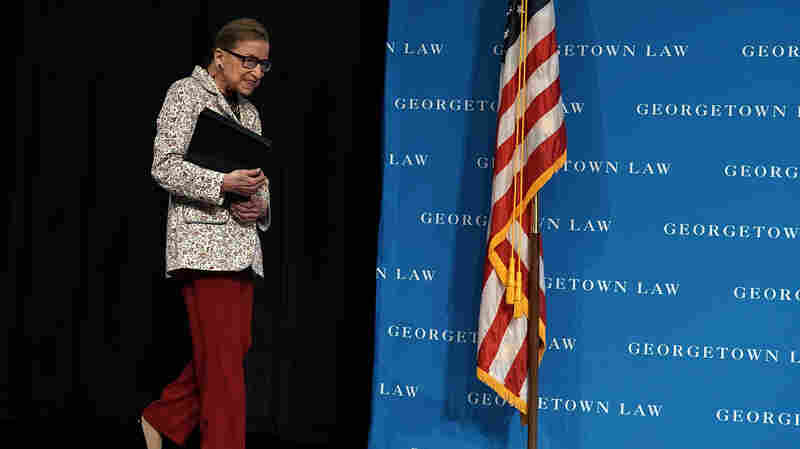 Justice Ruth Bader Ginsburg Hospitalized After Falling, Fracturing 3 Ribs