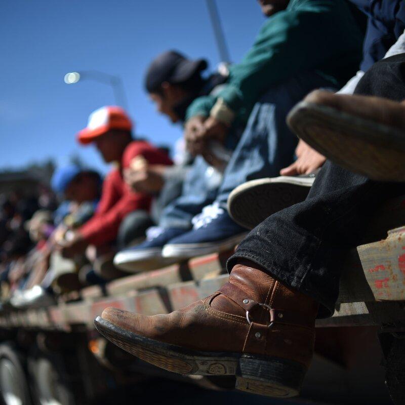 768ff84faadf Mexican Protesters In Tijuana Demand Caravan Migrants Be Deported