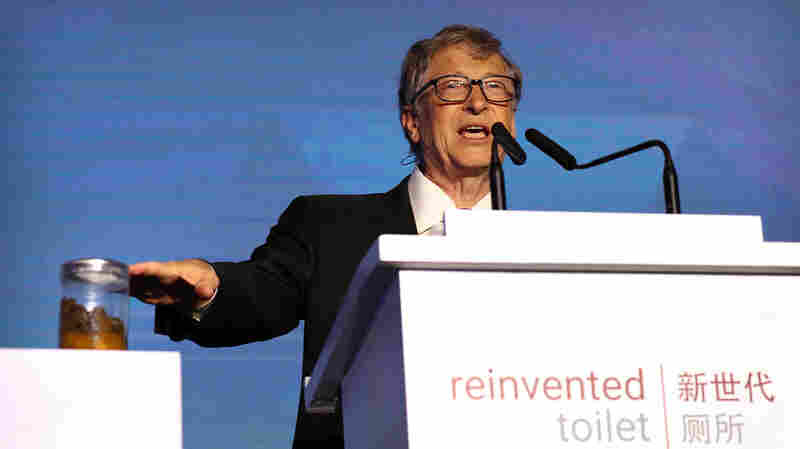 Why Did Bill Gates Give A Talk With A Jar Of Human Poop By His Side?