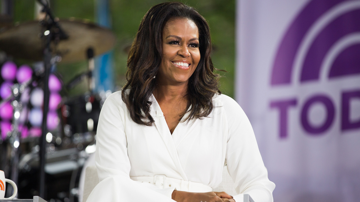 Michelle Obama Tells The Story Of 'Becoming' Herself — And The Struggle To Hang On