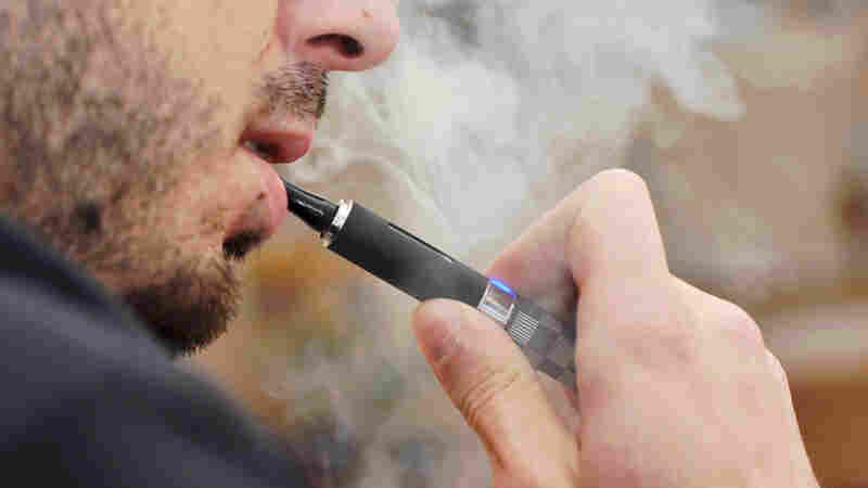 FDA Cracks Down On E-Cigarette Sales To Curb Teen Vaping