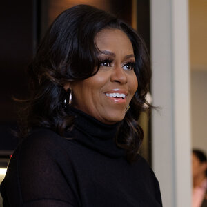 Michelle Obama Tells NPR She 'Never Ever' Would Have Chosen Politics For Herself