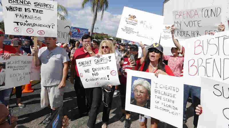 Florida Elections For Governor And U.S. Senate Heading For Recount