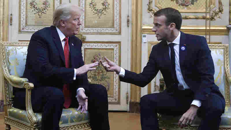 Trump's Meeting In Paris To Commemorate End Of World War I Starts With A Spat