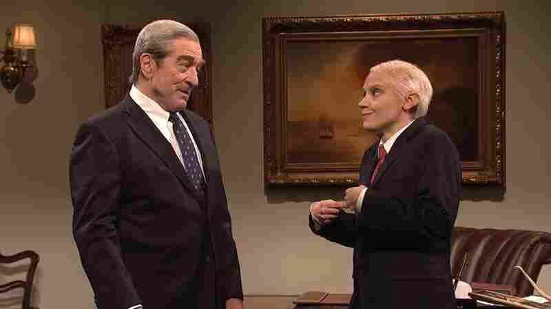 丹克伦肖模拟皮特·戴维森和罗伯特•德尼罗回报,穆勒SNL的