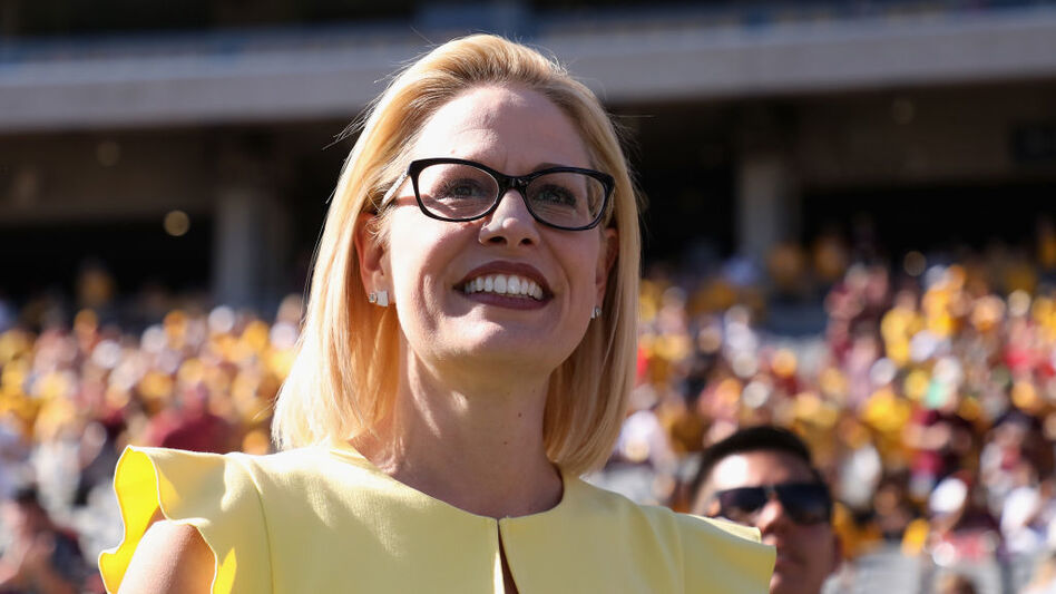 Democrat Kyrsten Sinema is projected to win the Arizona Senate race, according to the Associated Press. (Christian Petersen/Getty Images)